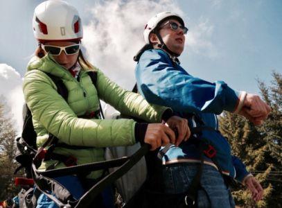 Paragliding – tandemový let