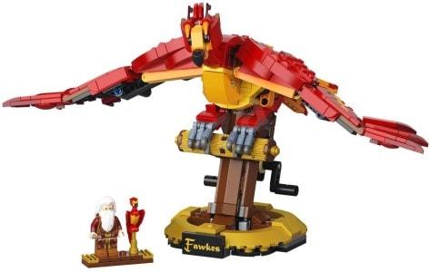 Harry Potter a Fawkes - lego dárek pro děti i dospělé