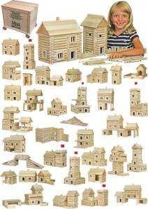 Dřevěná stavebnice Walachia – kvalitní dřevěná stavebnice české výroby