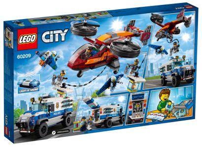 LEGO® City Police - Letecká policie a loupež diamantu