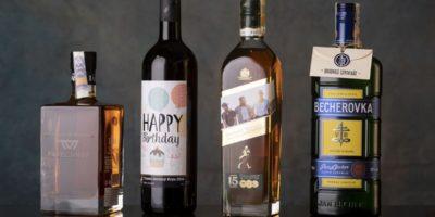 Vlastní etiketa – darujte láhev s vlastní etiketou