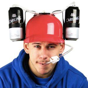 Pivní helma nejen pro pivaře