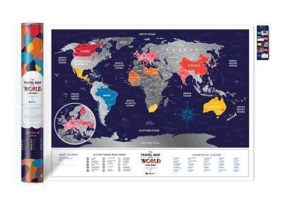 Mapa pro cestovatele