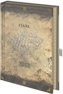 Zápisník Game of Thrones - Stark A5