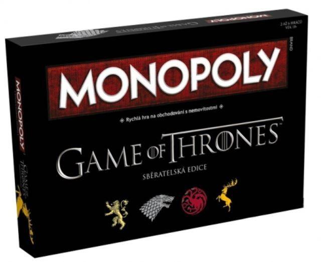 Monopoly Hra o trůny
