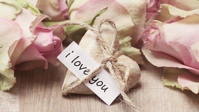 Valentýnka - přání k Valentýnu