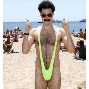 Plavky á la Borat