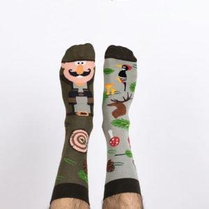 Veselé ponožky na tchánovy nožky