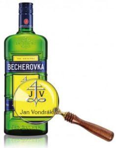 Becherovka Personalizovaná láhev