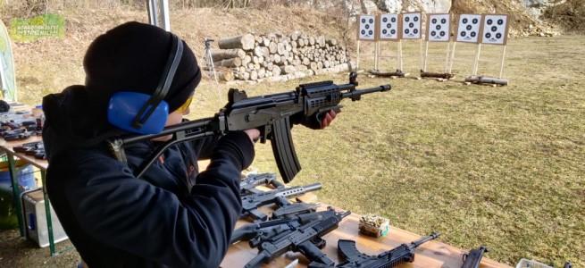 Dobrodružství na střelnici - zážitek nejen pro tatínka