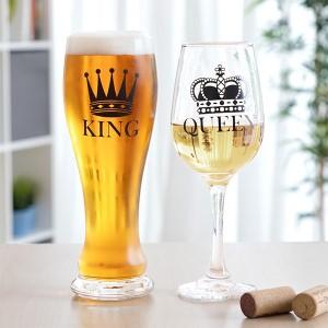 Sklenice na pivo - dárek pro manžela
