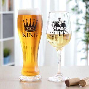 Sklenice pro krále a královnu