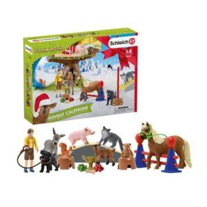 Kalendář s figurkami