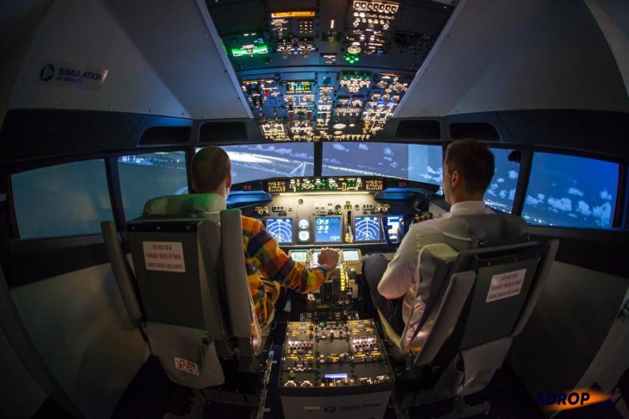 Letecký simulátor Boeing 737