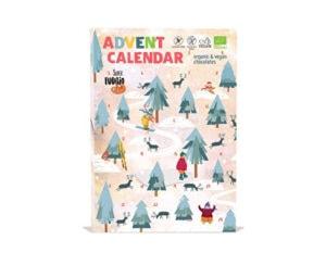 Adventní čokoládový kalendář