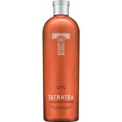 Tatratea 42% (Peach) – středně silný tatranský čaj