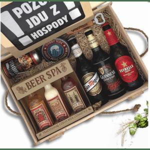 pivní dárkový box