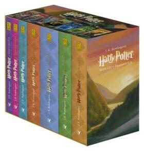 Harry Potter 1-7 - nejlépe hodnocená kniha pro děti