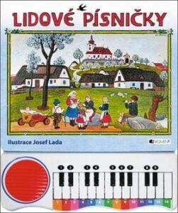 Lidové písničky s piánkem – nejprodávanější kniha pro nejmenší děti