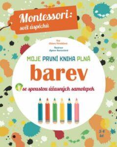 Moje první kniha plná barev – Montessori kniha pro nejmenší děti