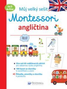 Můj velký sešit Montessori – angličtina – anglická kniha pro nejmenší děti