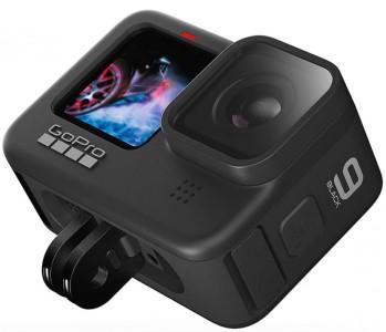 Outdoorová kamera na motorku – GoPro HERO 9 Black