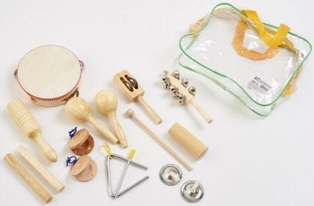 Perkusní sada pro roční miminko – hračky pro rozvoj dítěte