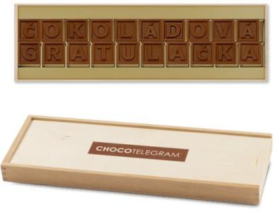 Čokoláda pro sladké hříšnice – originální dárek pro kolegyni (nejen) na rozloučenou