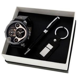 Dárková sada hodinek pro muže Gino Milano MWF14-018N – dárkové sety nejen pro tatínka