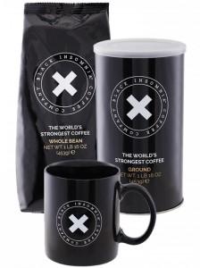 Dárkový balíček s nejsilnější kávou na světě – dárek pro kolegu kafaře