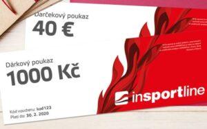 Dárkový poukaz InSPORTline – dárek pro kluka 13 let