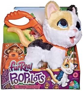 Interaktivní kočka na vodítku – FurReal Friends Poopalots dárek pro děti