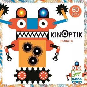 Interaktivní sada krozpohybování obrázkového robota – robotický dárek pro děti k Vánocům i narozeninám