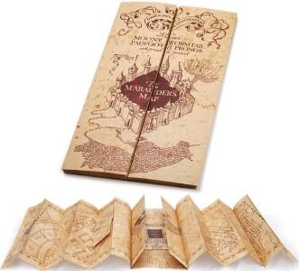 Oficiální filmová replika Pobertova plánku – dárky Harry Potter k Vánocům