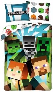 Povlečení pro všechny fanoušky Minecraftu – dárek k Vánocům