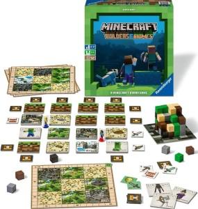 Strategická stolní hra nejen pro fanoušky Minecraftu